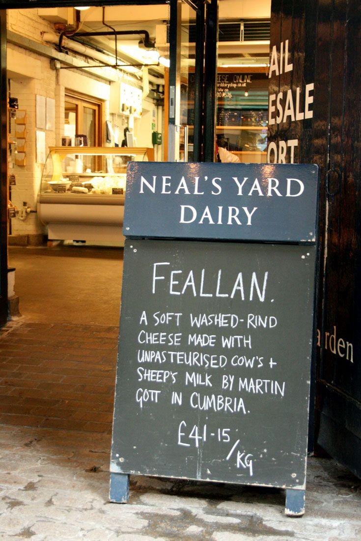 { Entrada a Neal's Yard, en Park St, frente a Borough Market ] #Nealsyard #Queso #londres