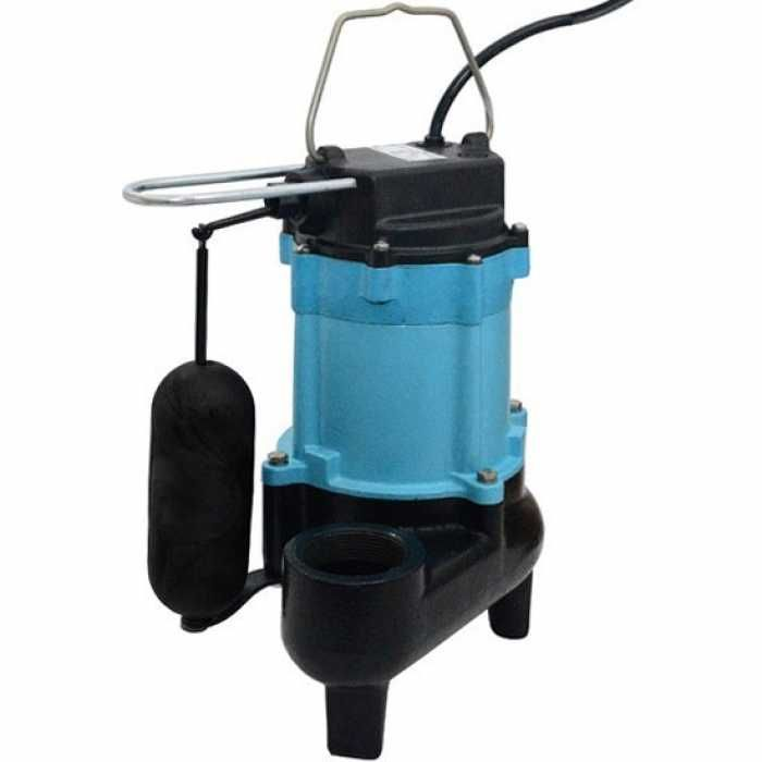 Automatic Sewage Pump W Vertical Float Switch 1 2hp 20 Cord 115v Sewage Pump Little Giants Sewage Pumps