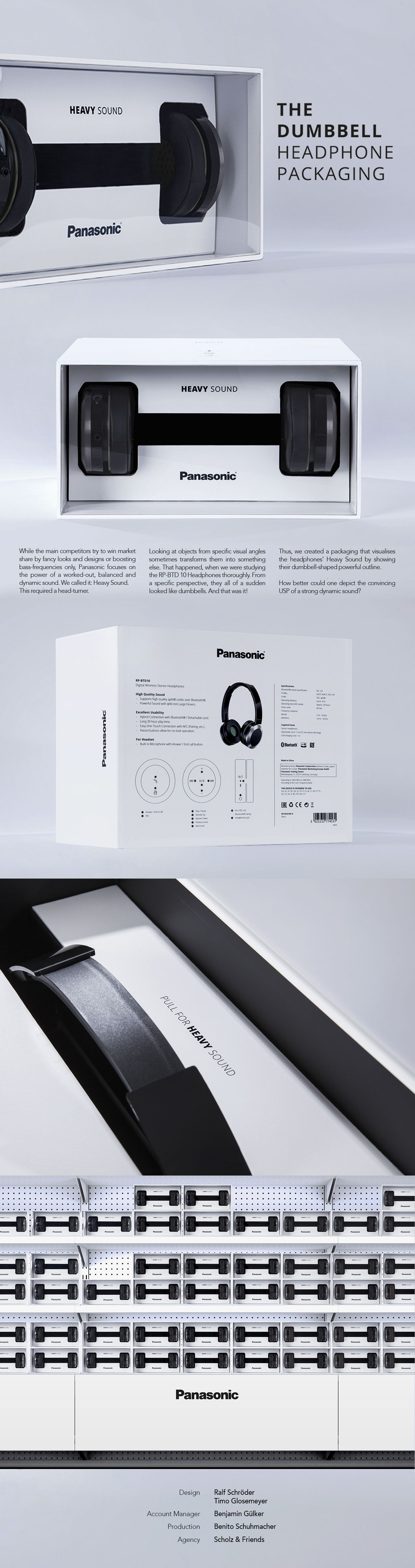 Panasonic the dumbbell headphone packagingpanasonic is for Panasonic phone label template