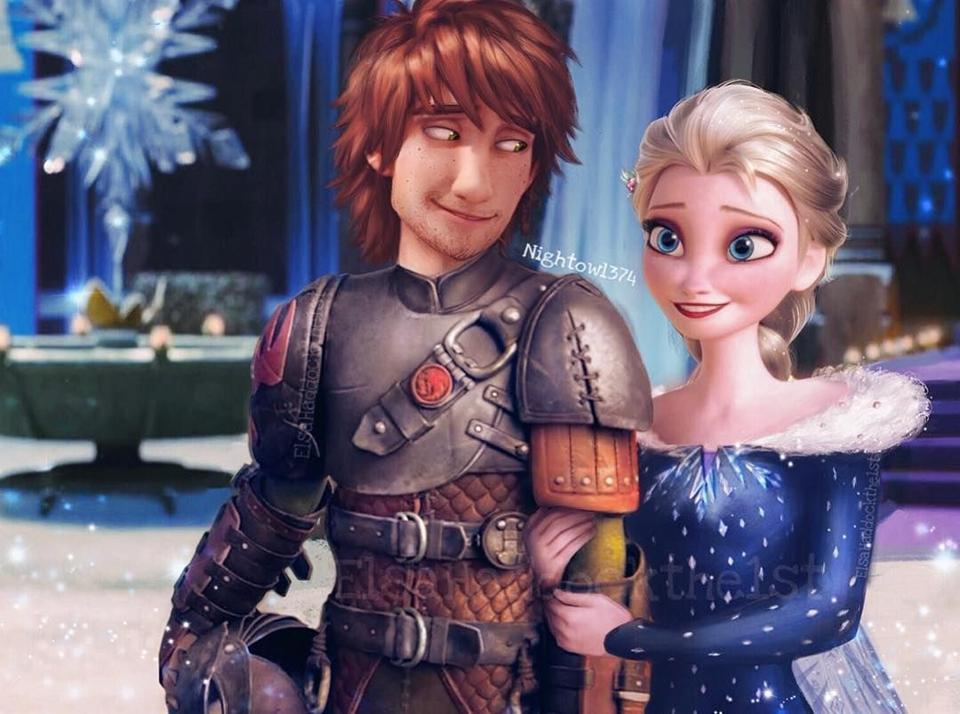 Saw That There S A New Frozen Short Coming Soon Who S Excited Here S A New Little Edit Because I Have Anna Disney Elsa And Hiccup Disney Crossovers