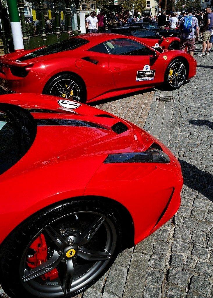 "Italian Visitors On The Carfax""Italian Red (nee Fer... -Red Italian Visitors On The Carfax"""