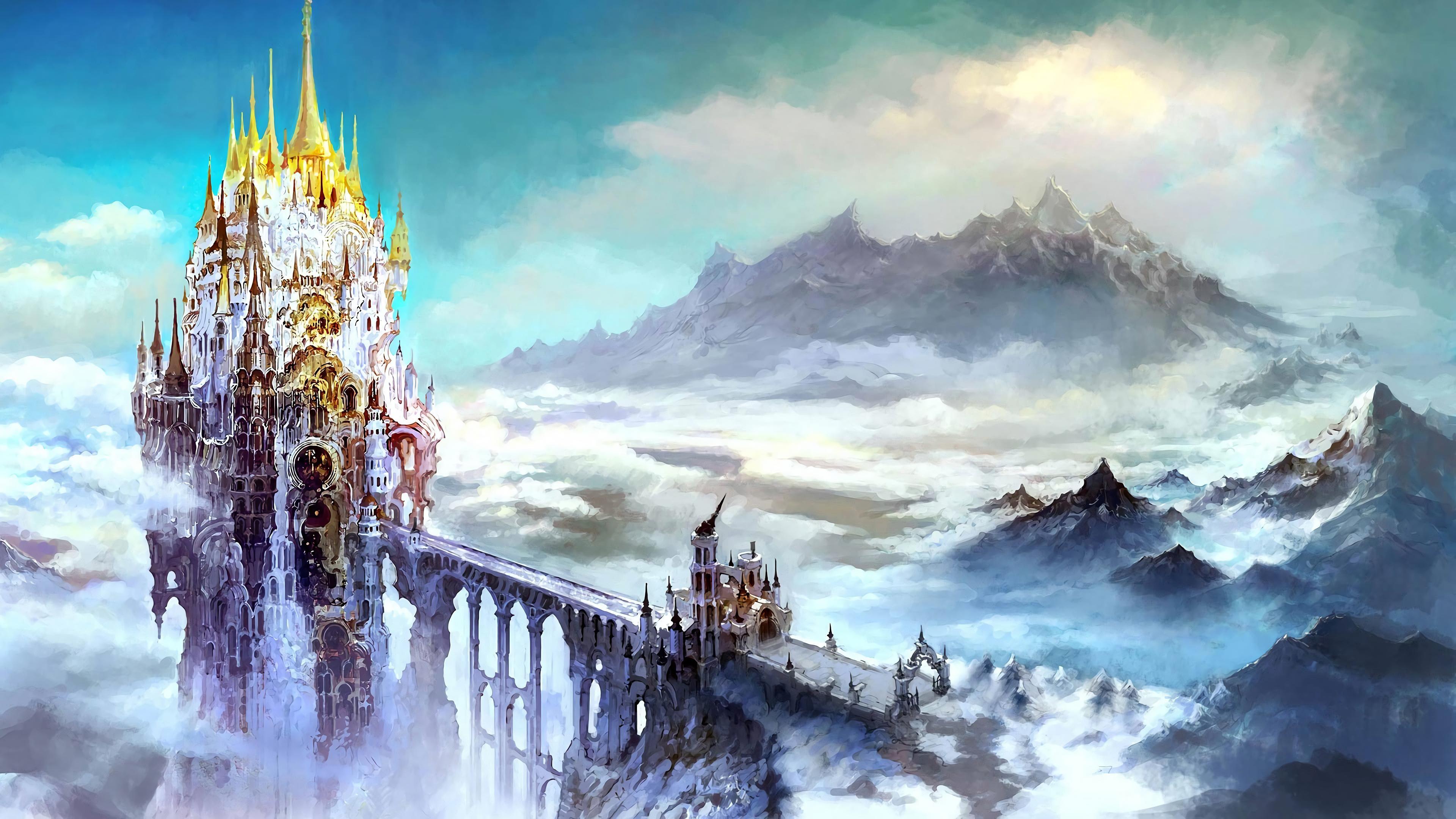 Ffxiv 4k Wallpaper Album Fantasy Concept Art Fantasy Landscape Final Fantasy Artwork