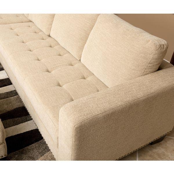 Charming ABBYSON LIVING Claridge Fabric Sectional