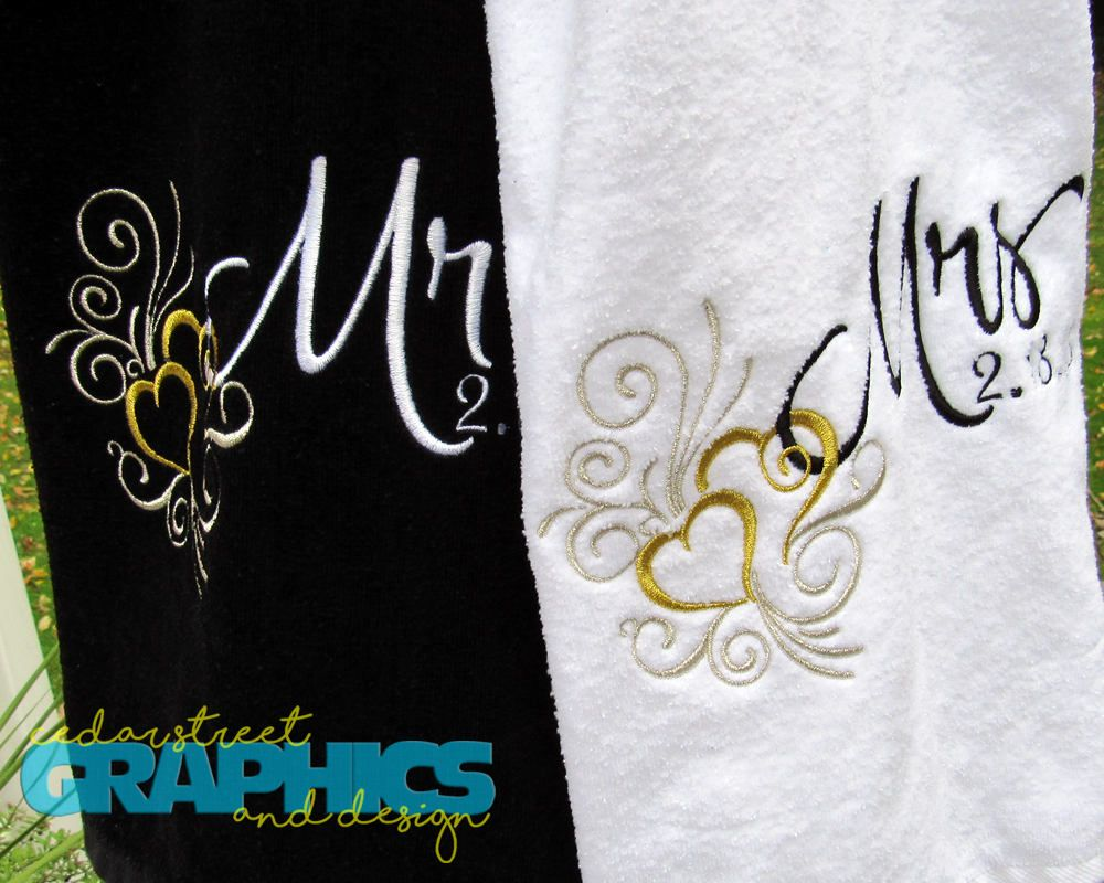 Mr And Mrs Beach Towels Extra Large His And Hers Beach Towel Set
