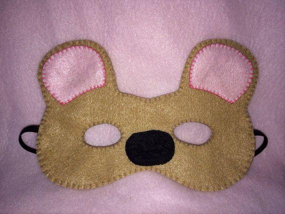 Teddy bear mask on Etsy, £3.00