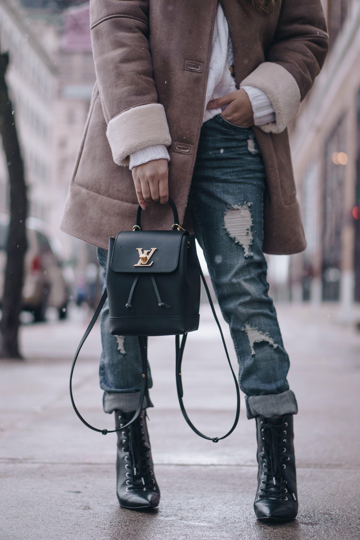 ec3c82abe9f0 Louis Vuitton Mini Lockme Backpack Review