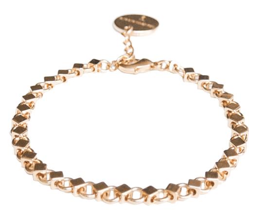 Bracelet Tayaral carré - Tayaral square bracelet #Tayaral #bijoux #jewelry #Mademoiselle_S #maya #geometrique #geometry #Made_in_Paris