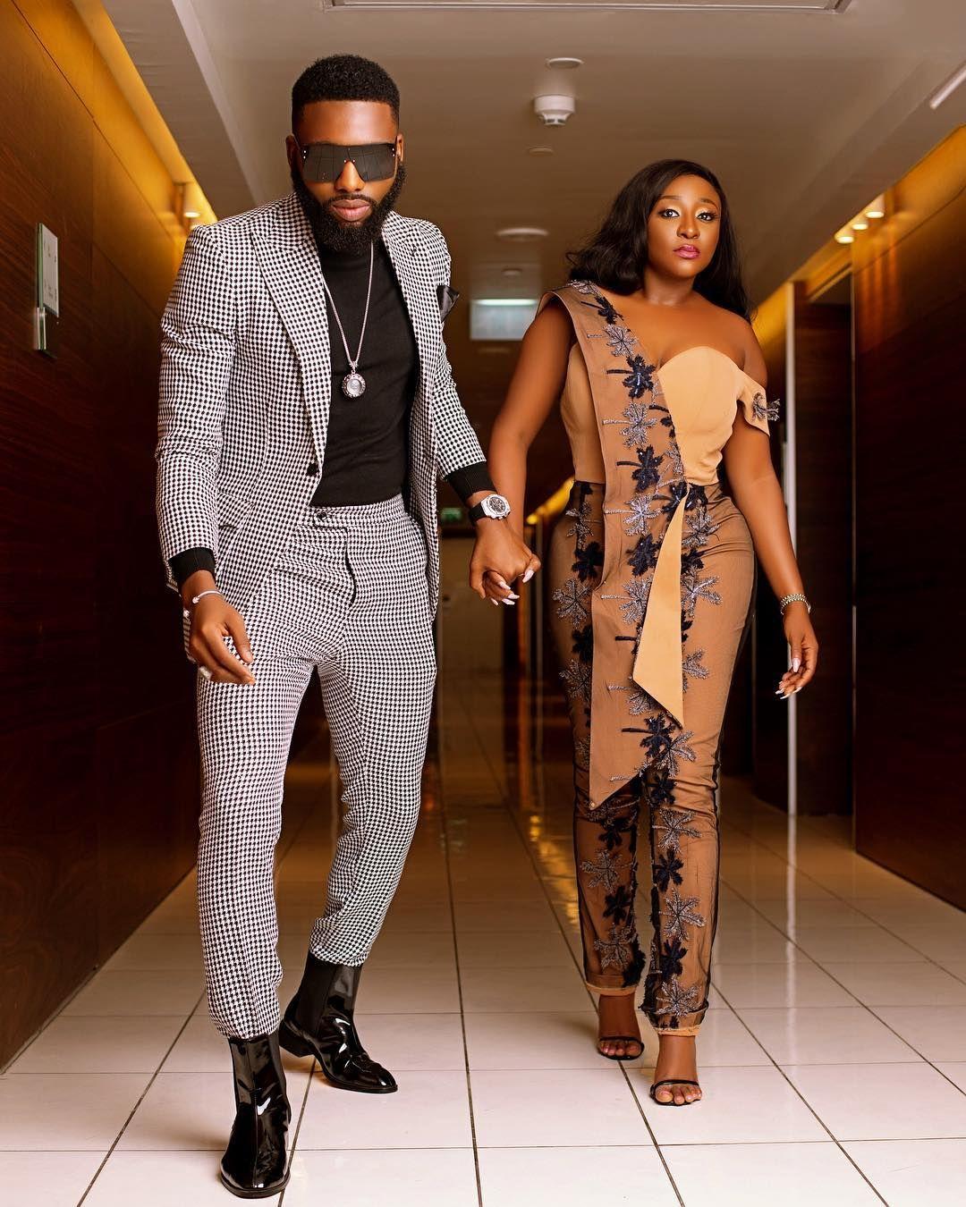Ini Edo And Swanky Jerry Step Out In Style Celebrities Nigeria Registry Wedding Dress Naija Fashion Style
