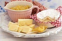 Quitten-Ingwer-Chutney Rezept: Zitrone,Quitten,Zwiebeln,Ingwer,Öl,Zucker,Apfelessig,Apfelsaft,Pfeffer,Deckel