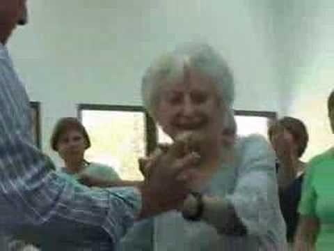 95 yrs. old dancing
