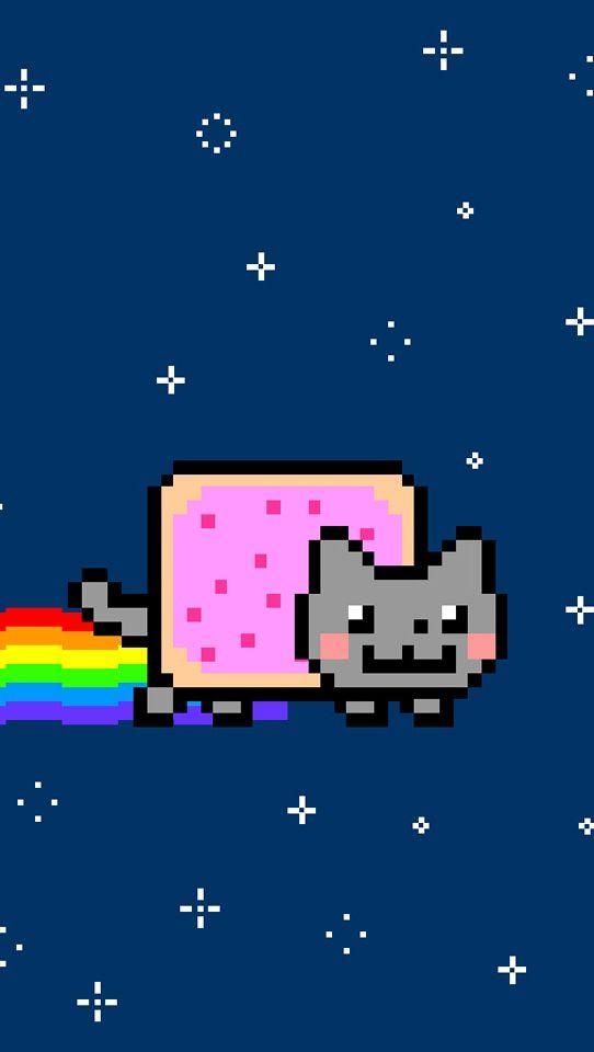 Nyan Cat Good Wallpaper Party Ideas Nyan Cat Cats Pusheen Cat