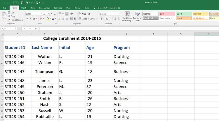 How To Track Contacts And Collections With An Excel Database