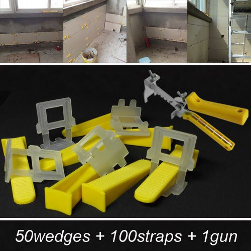 Tile Leveling System For The Flooring Make The Floor And Tile Level And Spacer Tools Include 50wedge Tile Leveling System Plastic Floor Tiles Tile Suppliers