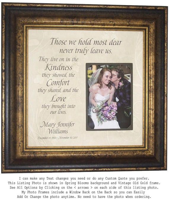 In Memory Of Gift, In Memory Of Mom, Sympathy Gift, Remembrance Gift ...