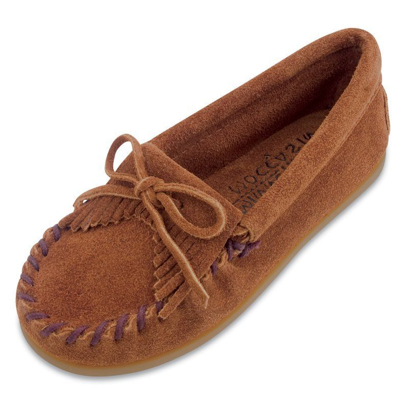Free Shipping Cheapest Price Quality For Sale Free Shipping Minnetonka Boy's Moc(Infant/Toddler Boys') -Chocolate Suede Clearance Best Seller Cheap Sale Hot Sale Cheap Best Wholesale agapRs