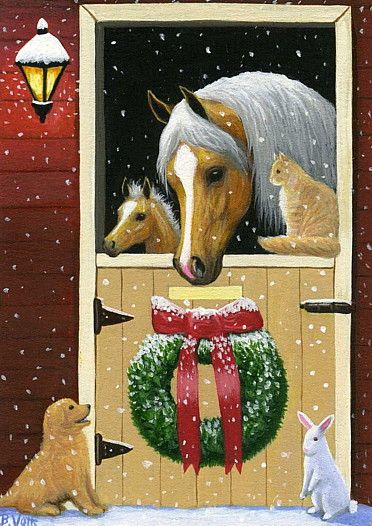 Christmas Horse Drawing.Pin On Horse Drawings