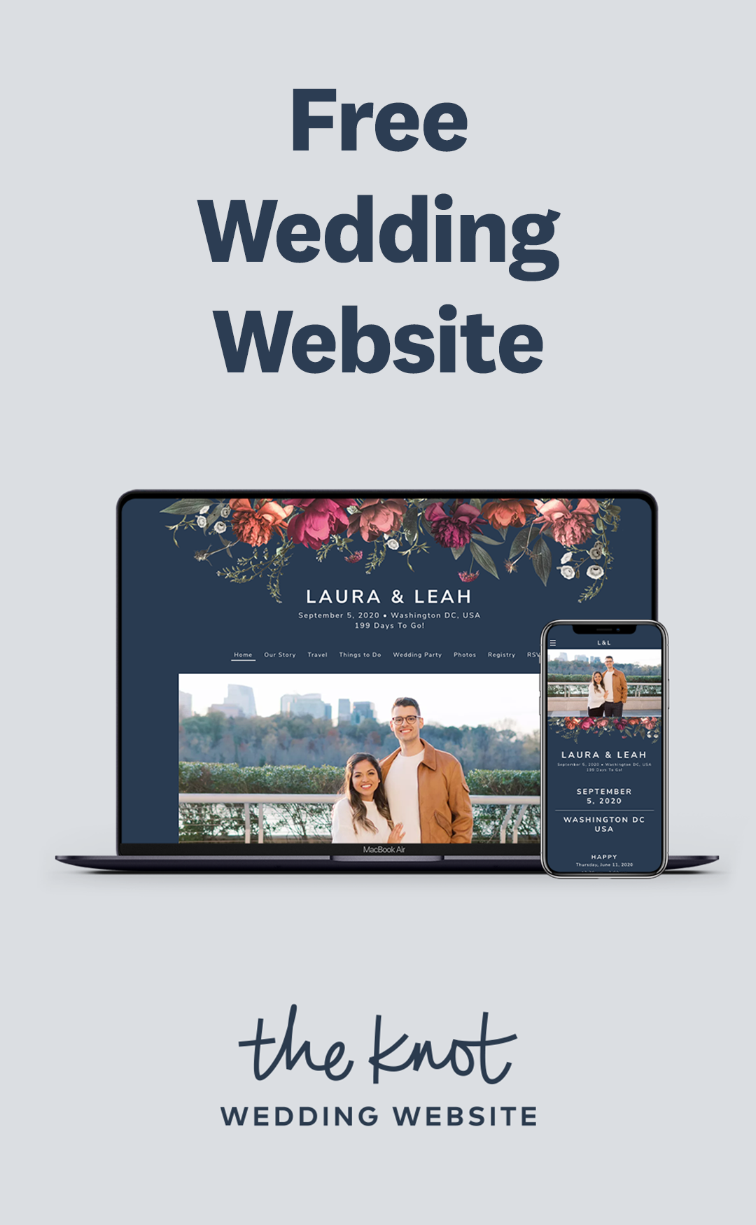 A Free Wedding Website Made Your Way In 2020 The Knot Wedding Website Wedding Website Wedding Website Free
