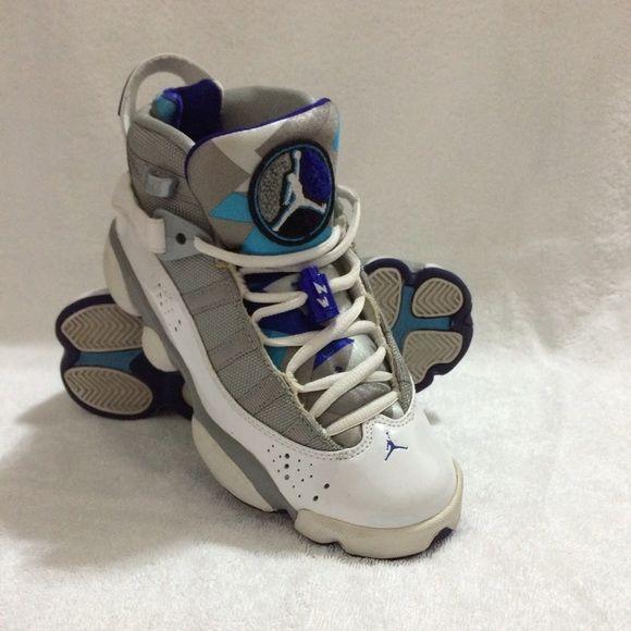 Girls Jordan 6 rings 6 rings Jordans. Very comfortable. Nike Shoes Sneakers
