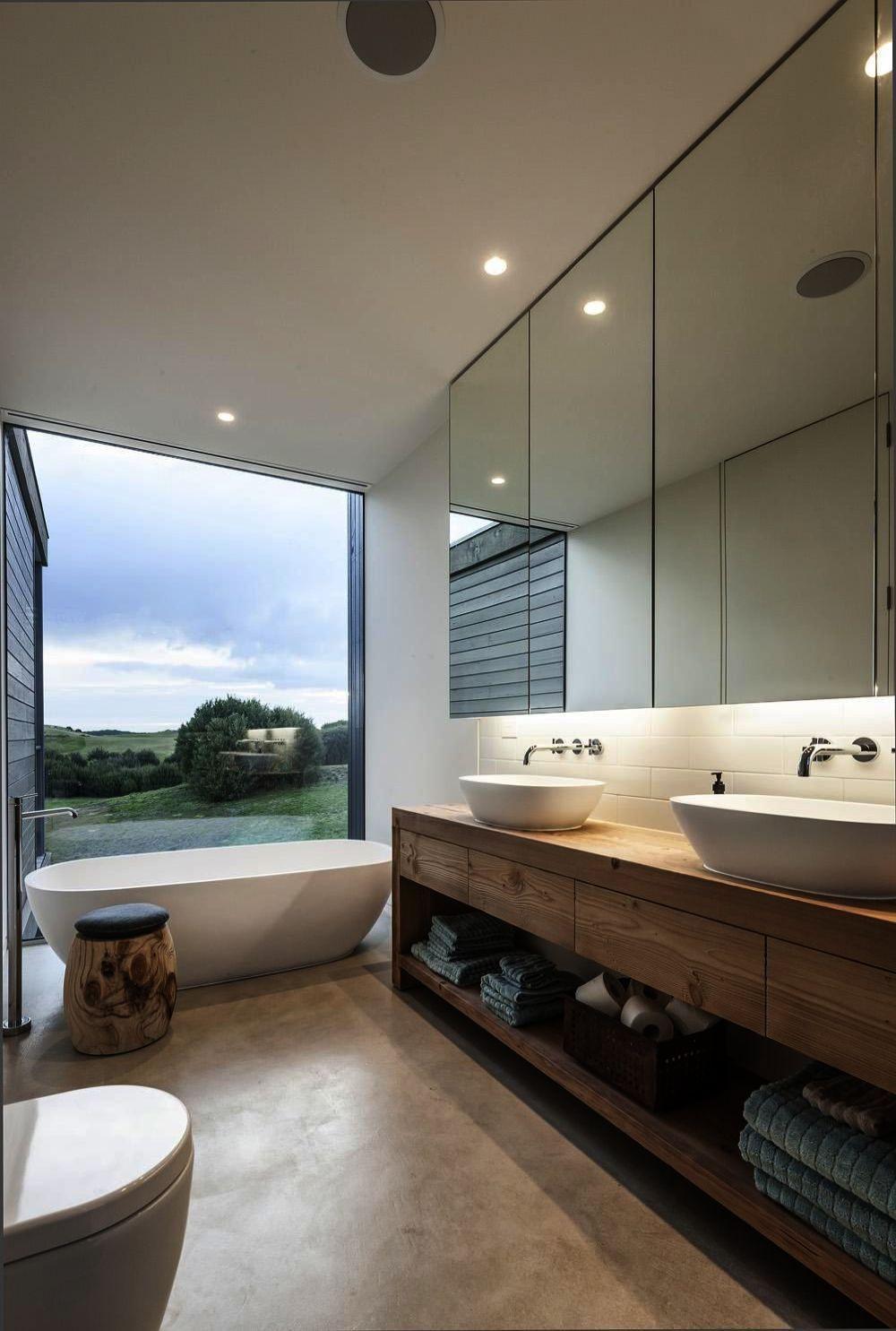 Contemporary Bathroom Lights Uk Modern Neutral Bathrooms