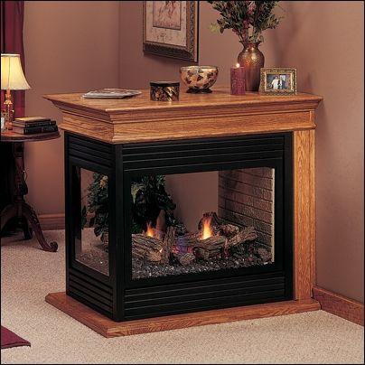 "Majestic 36"" Arlington Peninsula Direct Vent Natural Gas Fireplace - PFLDVNSC   East Coast TVs"