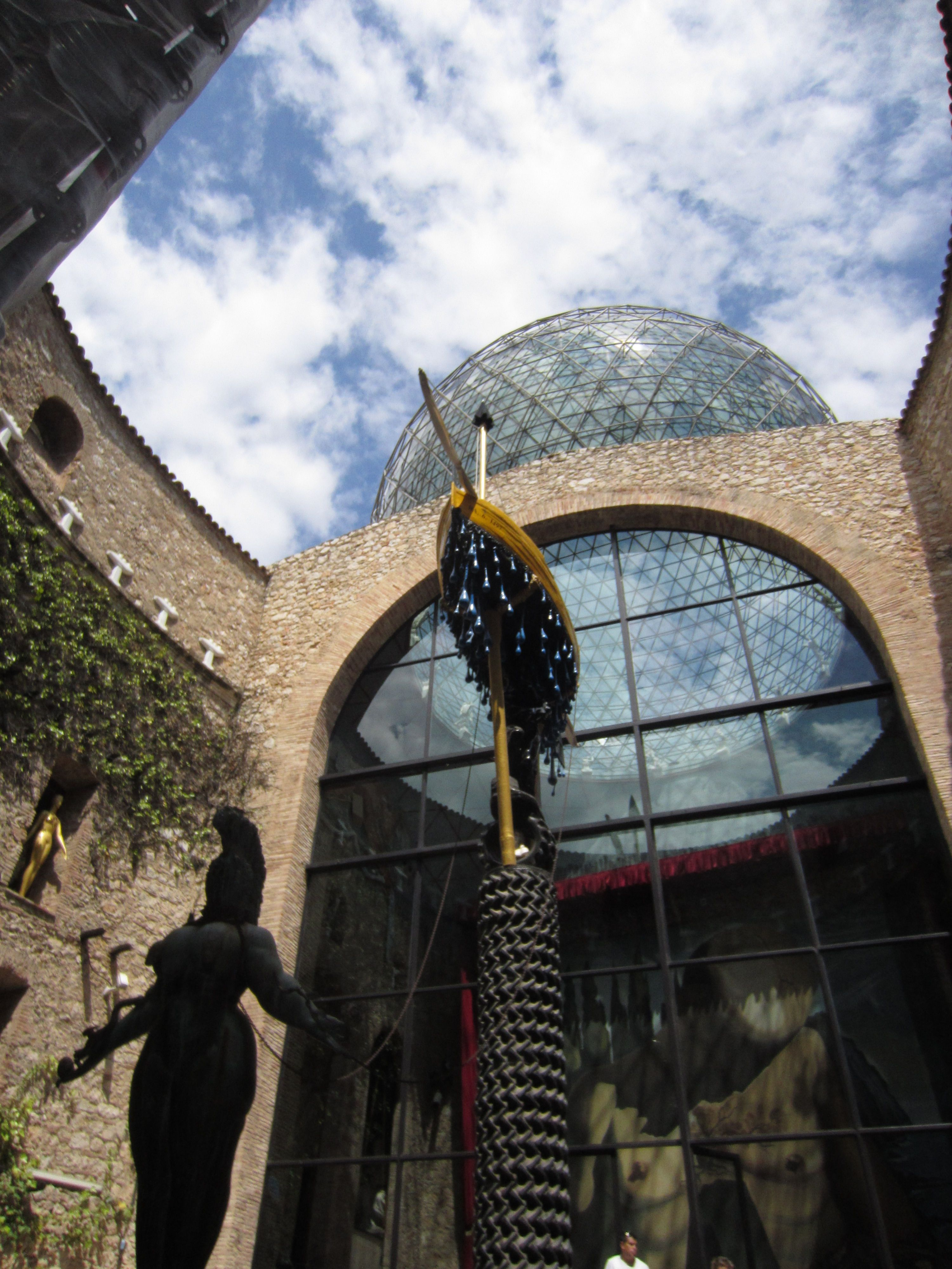 The Dali Museum and Theatre in Figueres, Spain.