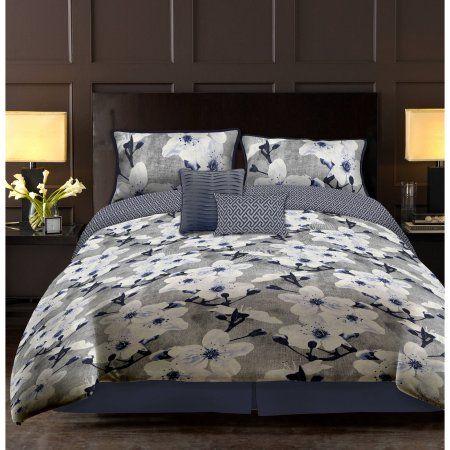 Casa Bell Ville 5-Piece Bedding Comforter Set, Multicolor