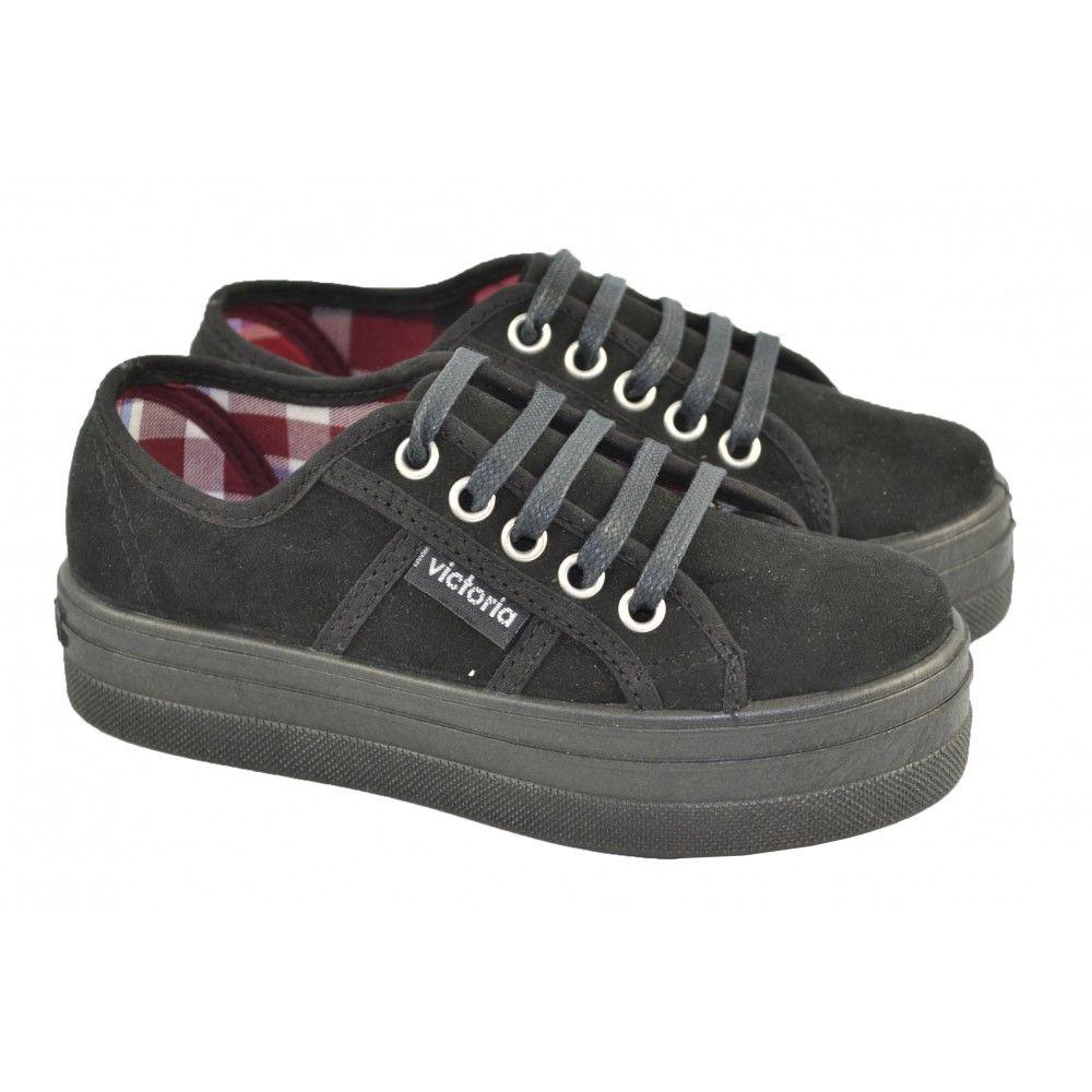 c4127753 Zapatillas plataforma antelina VICTORIA | Zapatos/Shoes | Zapatillas ...