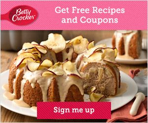 FREE Betty Crocker Recipes, Coupons, Samples | Closet of Free Samples | Get FREE Samples by Mail | Free Stuff