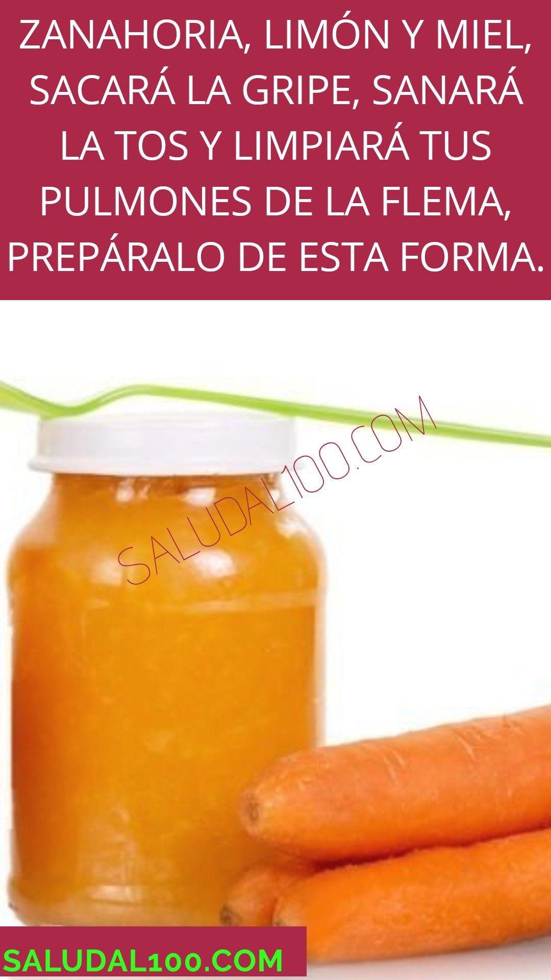 Zanahoria miel para la tos