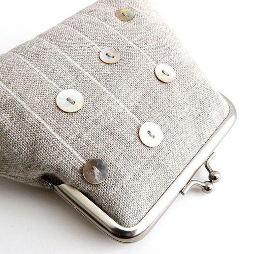 Stem Purse | Purse, Frame purse and Bag