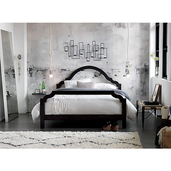 bedroom furniture cb2. Silhouette Queen Bed In Bedroom Furniture | CB2 - $799 I Love This Idea But Cb2