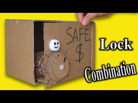 1 Make Piggy Bank Safe From Cardboard Diy Easy Box