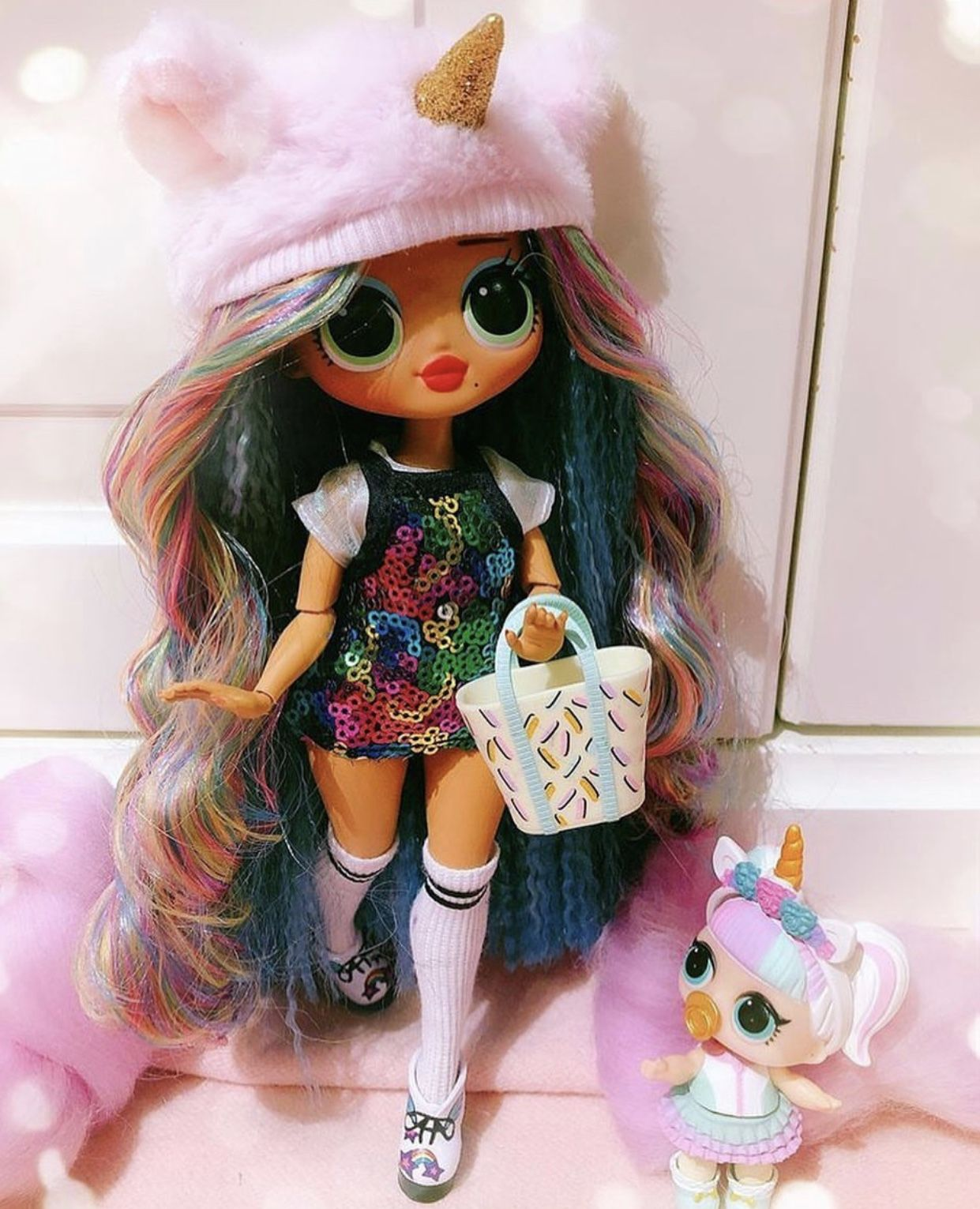 Unicorn Custom Omg Doll In 2020 Lol Dolls Cute Doodles Cute Dolls