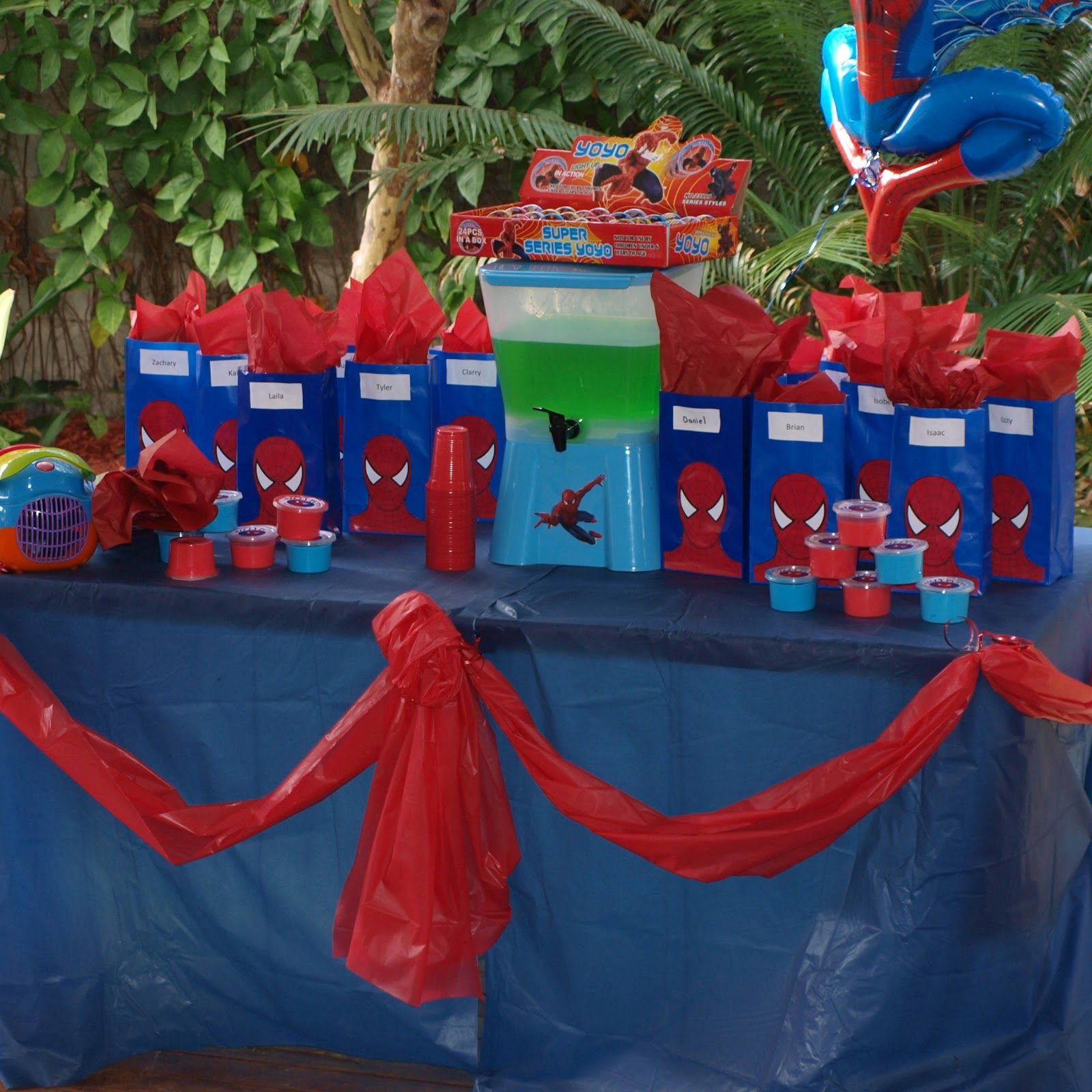 spiderman birthday party ideas for 4 year old – birthday presents