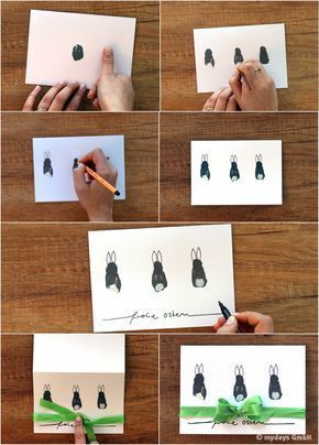 It's that simple: DIY DIY Easter cards yourself mydays magazine#cards #diy #easter #magazine #mydays #simple #yourself
