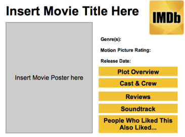 Free Download Imdb Powerpoint Template Powerpoint
