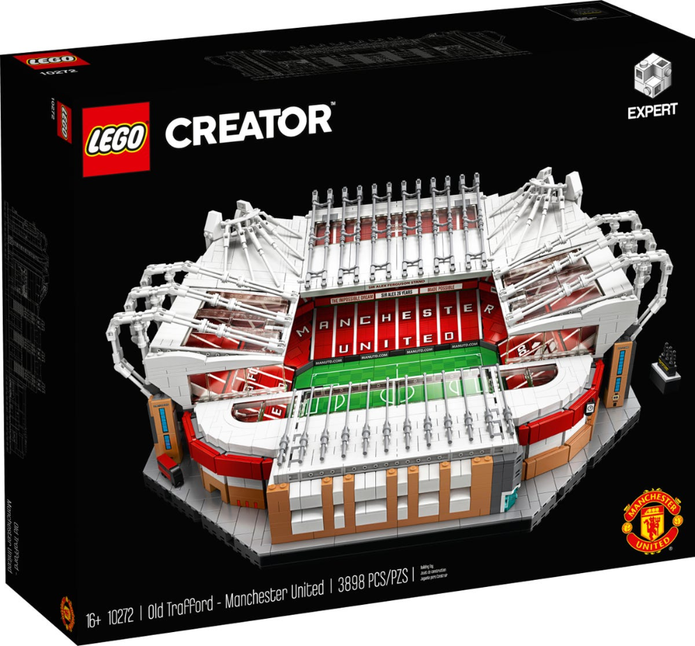 Old Trafford Manchester United 10272 Creator Expert Buy Online At The Official Lego Shop Us In 2020 Old Trafford Lego Creator Big Lego Sets