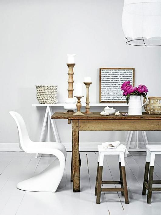 KITCHEN TABLE CHAIRSDO YOU PREFER MIX  MATCH OR MATCHY-MATCHY