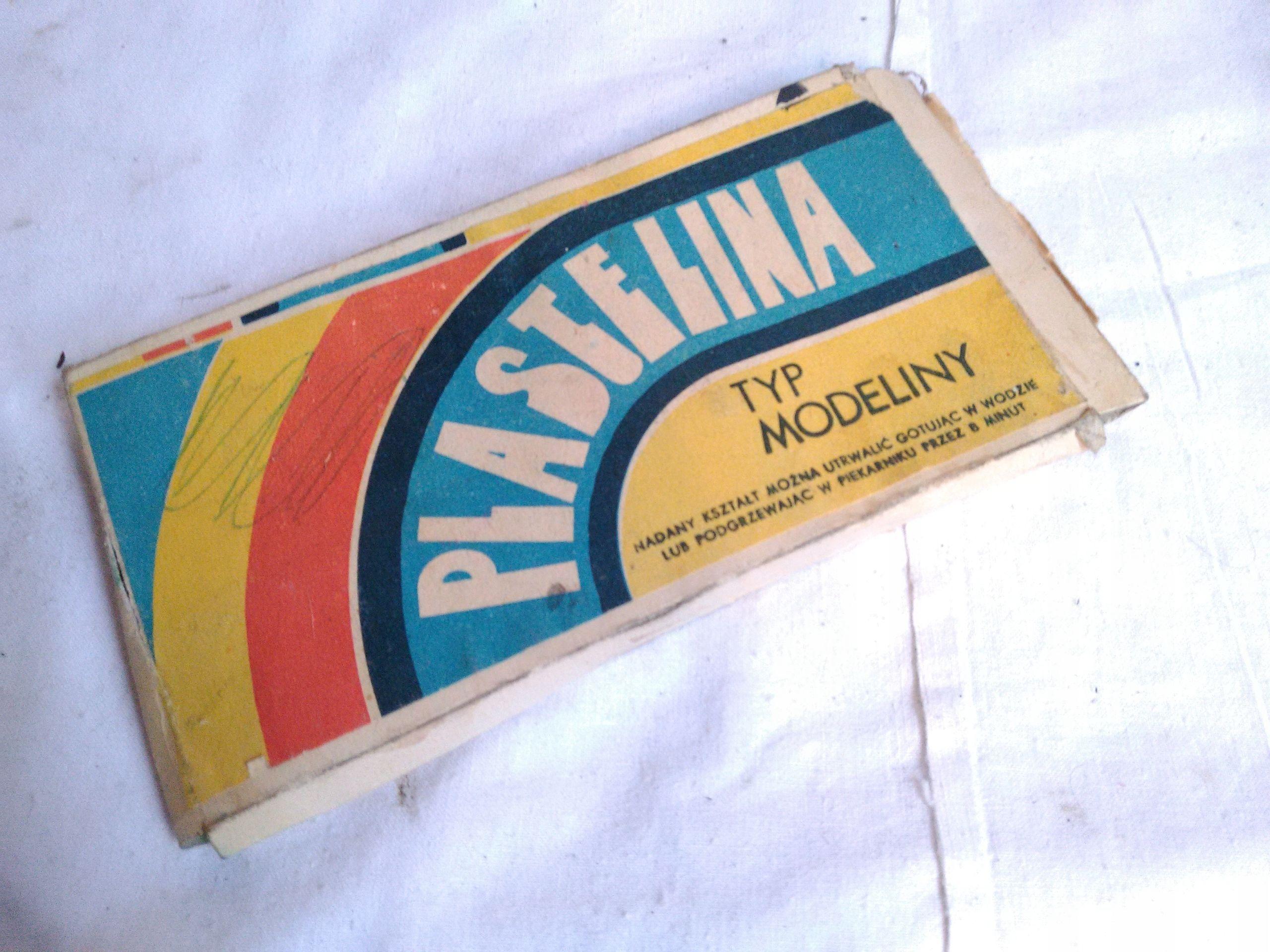 Plastelina Z Czasow Prl 7597045892 Oficjalne Archiwum Allegro Gum Candy