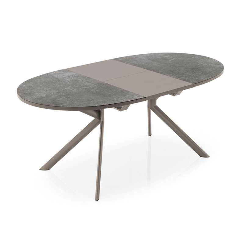 Table Ovale Extensible En Ceramique Giove Connubia Table Ovale Table En Ceramique Table Ronde Rallonge