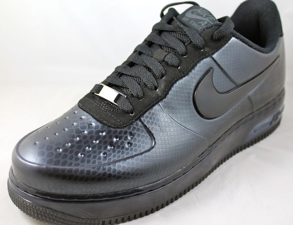 nike air force 1 foamposite pro low anthracite black
