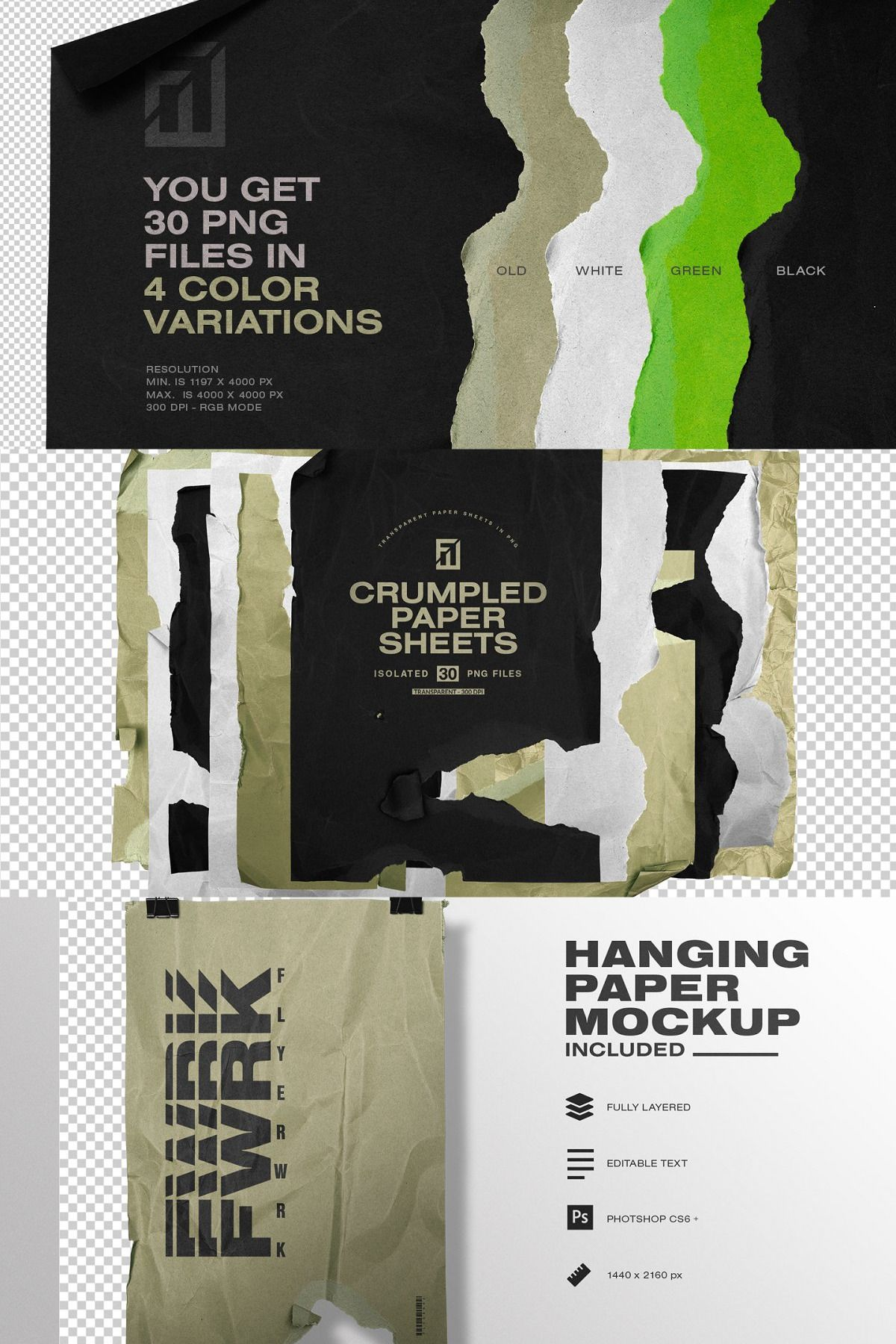 Crumpled Paper Sheets In Png Crumpled Paper Paper Flyers Paper
