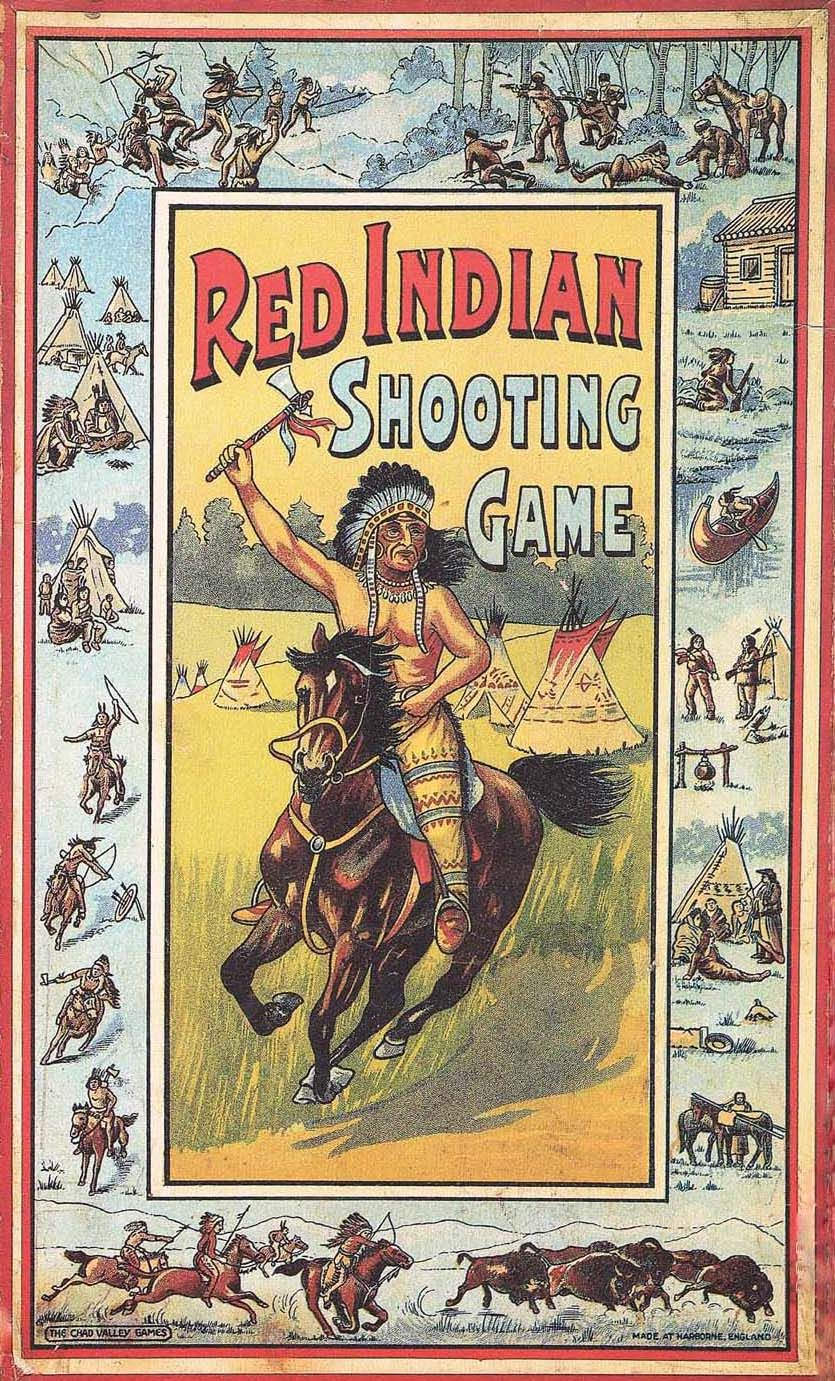 Red Indian Shooting Game