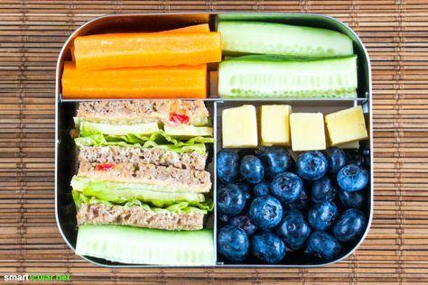 einfache und gesunde lunchbox ideen f r kinder abnehmen. Black Bedroom Furniture Sets. Home Design Ideas