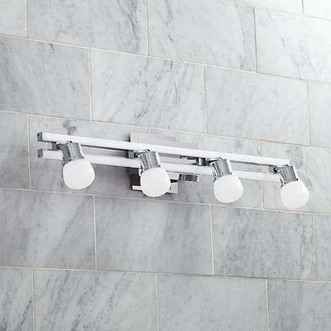 Possini euro bandeaux 25 34w 4 light chrome led bath light bath possini euro bandeaux 25 34w 4 light chrome led bath light this distinctive energy efficient aloadofball Images
