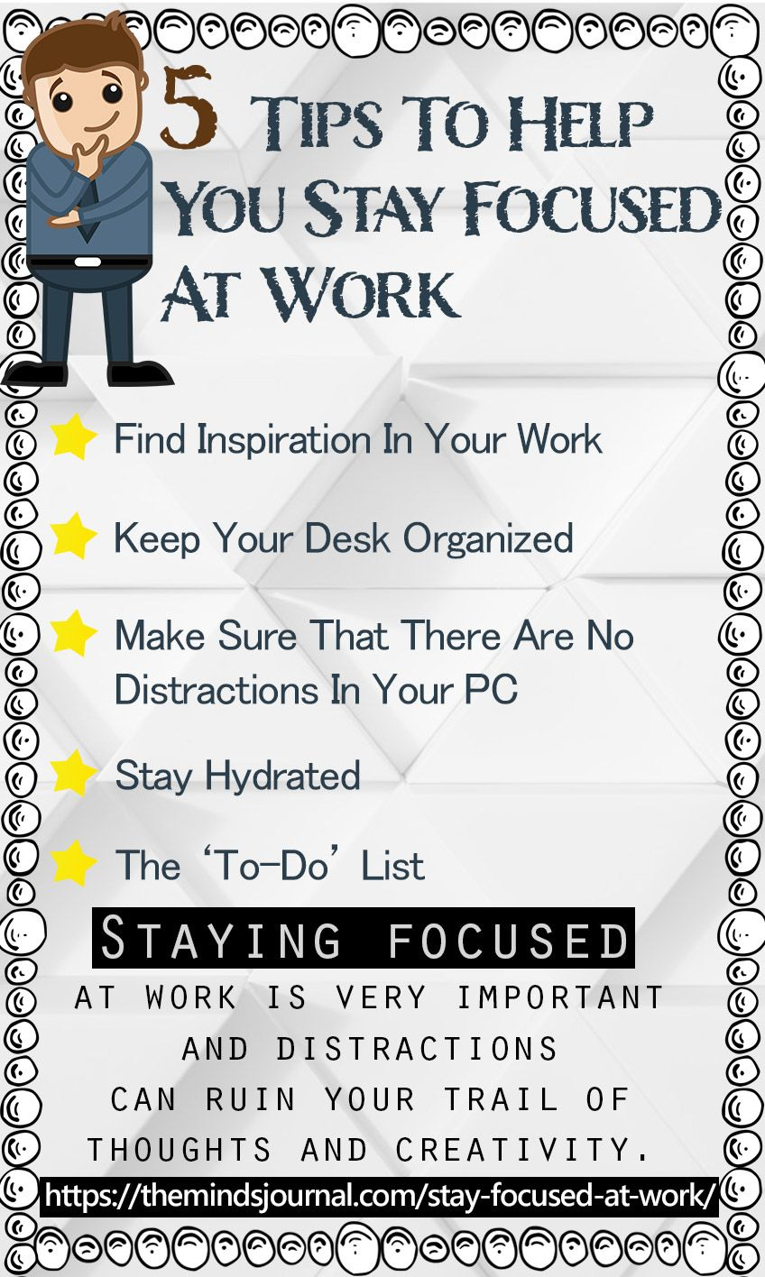 5 Simple and Sureshot Ways To Help You Stay Focused At