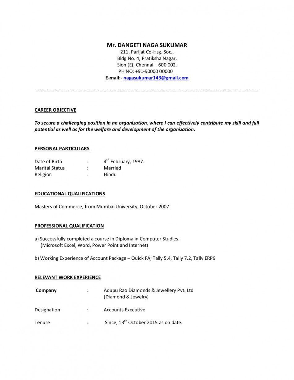accounts payable resume format accounts payable resume