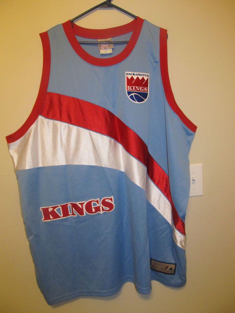 c11af8141f0 Sacramento Kings Retro Basketball jersey - Majestic Adult 4XL EUC  Majestic   SacramentoKings