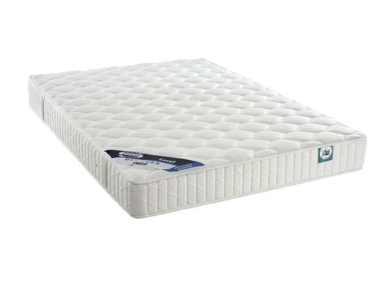 matelas 2 personnes 140x190 cm simmons lotus. Black Bedroom Furniture Sets. Home Design Ideas
