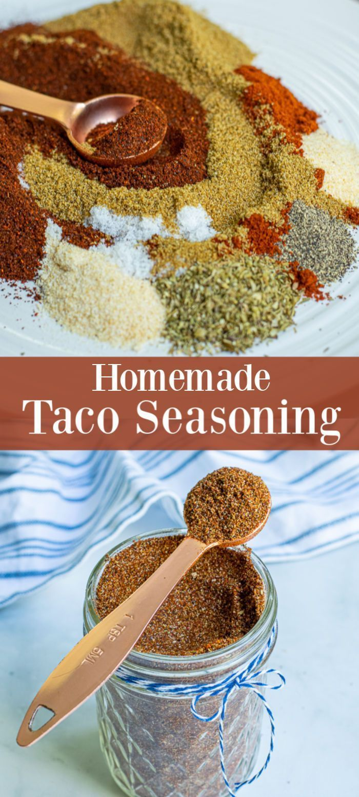 Simple Taco Seasoning at Home | The Schmidty Wife